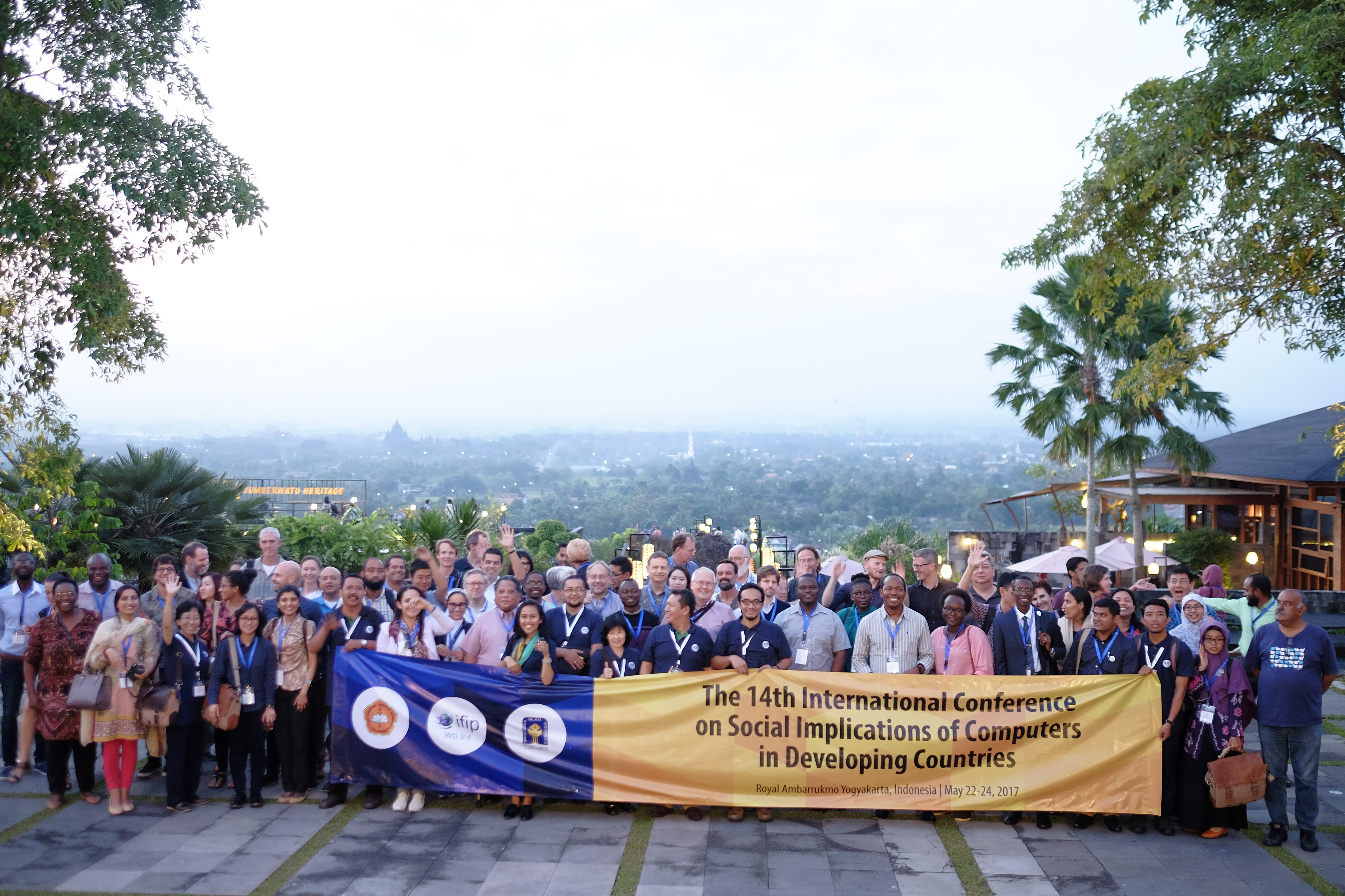 Group photo session - IFIP WG 94 2017 Conference 01.JPG